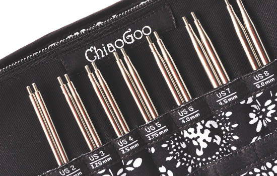 ChiaoGoo Set Twist Red Lace