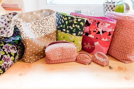Projekt-Taschen, Utensilos, Mini-Taschen