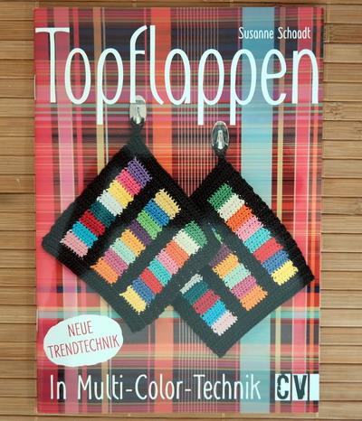 Buch Topflappen multicolor häkeln