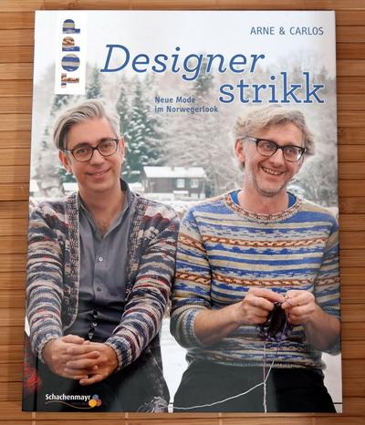Buch Designer strikk Arne und Carlos