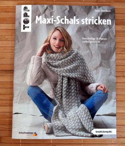 Buch Maxi-Schals stricken