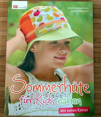 Buch Sommerhüte für Kids nähen