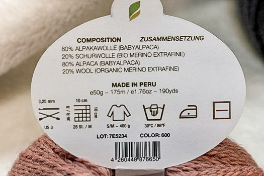 Pascuali Balayage Etikett