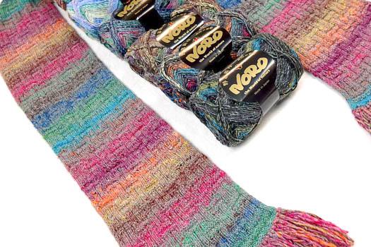 Schal aus Noro Mirai