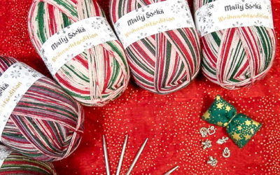 Ferner Wolle – Weihnachtssocken