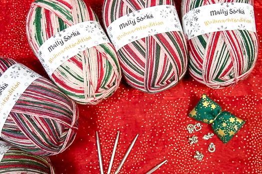 Weihnachtsedition Socken wolle Ferner 2020