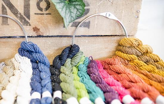 Strangwolle Dekoration Simply Stitch