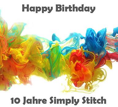 10. Geburtstag Simply Stitch