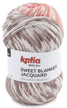 Katia Sweet Blanket Jacquard