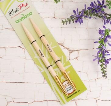 KnitPro Stricknadeln Bambus Nadelspitzen