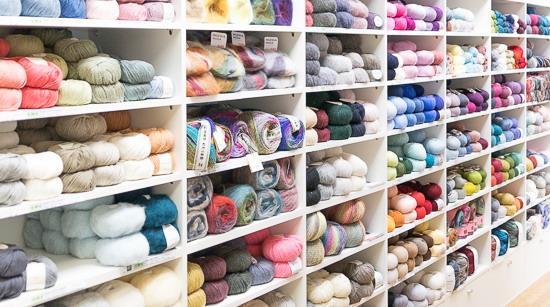 wieviel Wolle liegt in den Regalen?